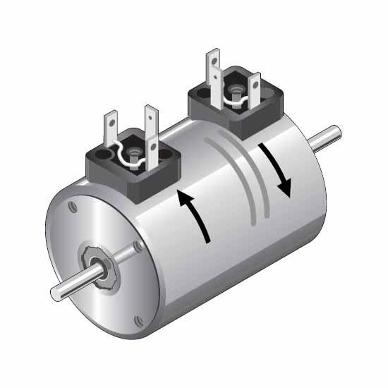 Kuhnke bi-directional rotary solenoid