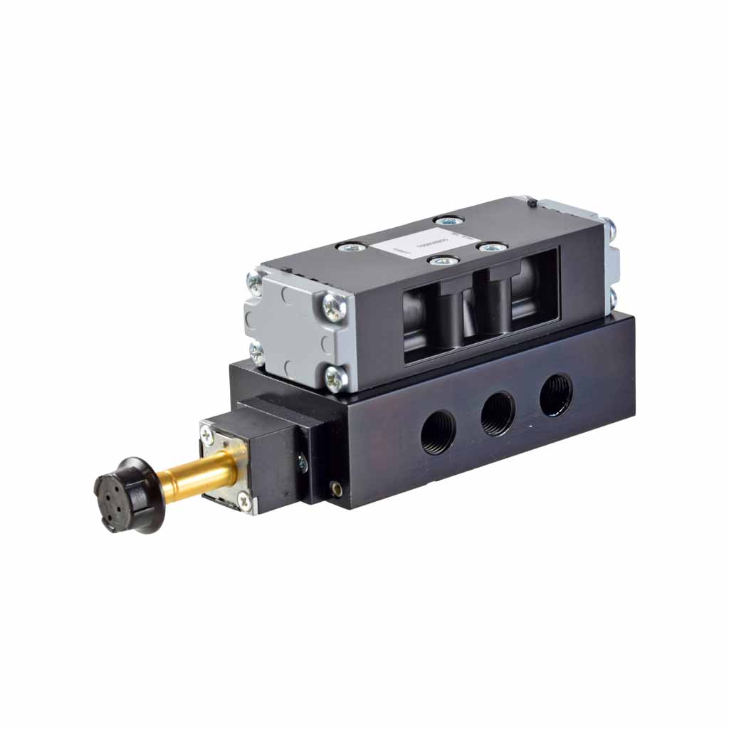 Kuhnke 76 series flip-flop valve electrically controlled