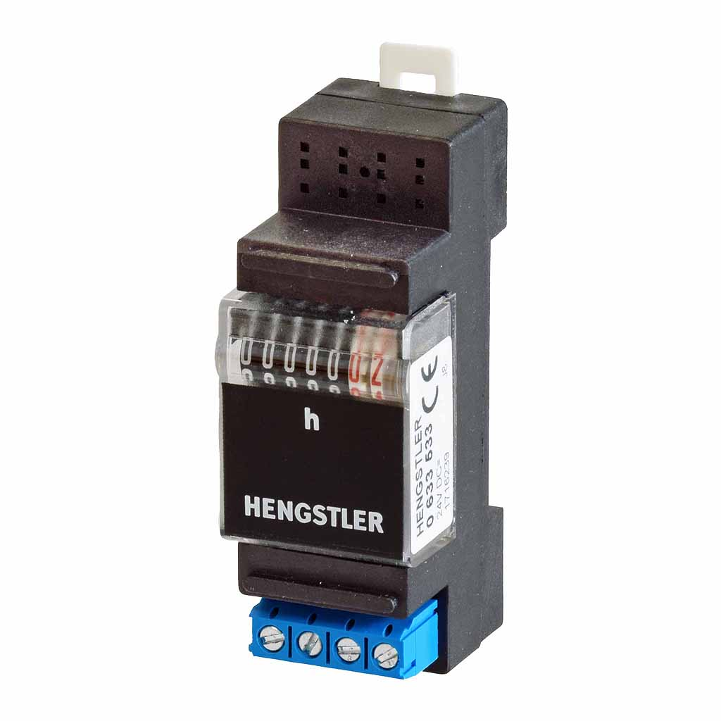Hengstler 633 DIN-rail totalising time counter
