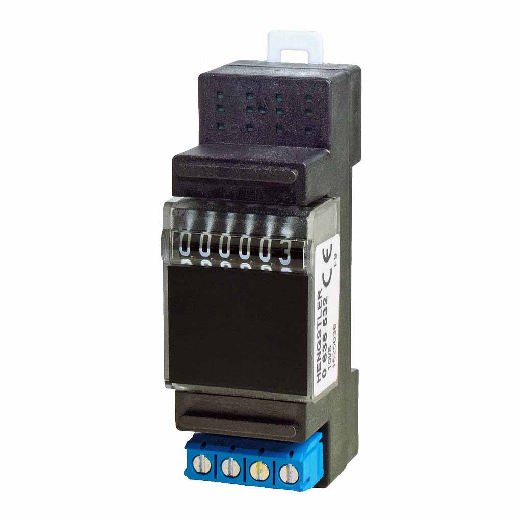 Hengstler 635 DIN-rail totalising counter