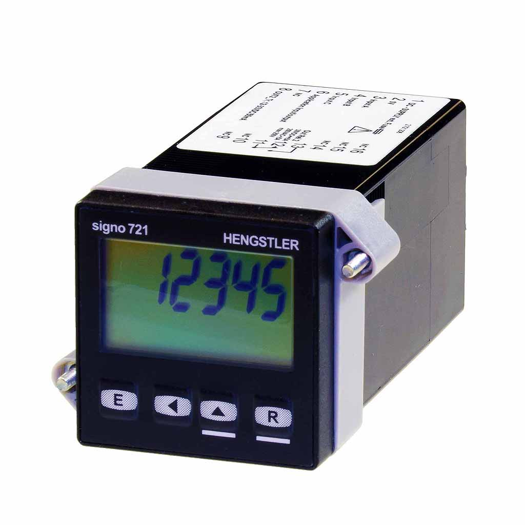 Hengstler Signo 721 preset counter LCD display