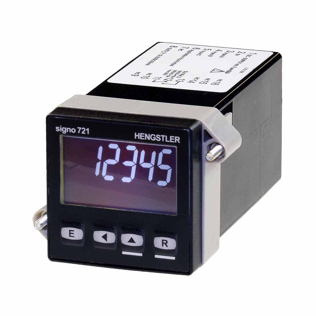 Hengstler Signo 721 preset counter white display
