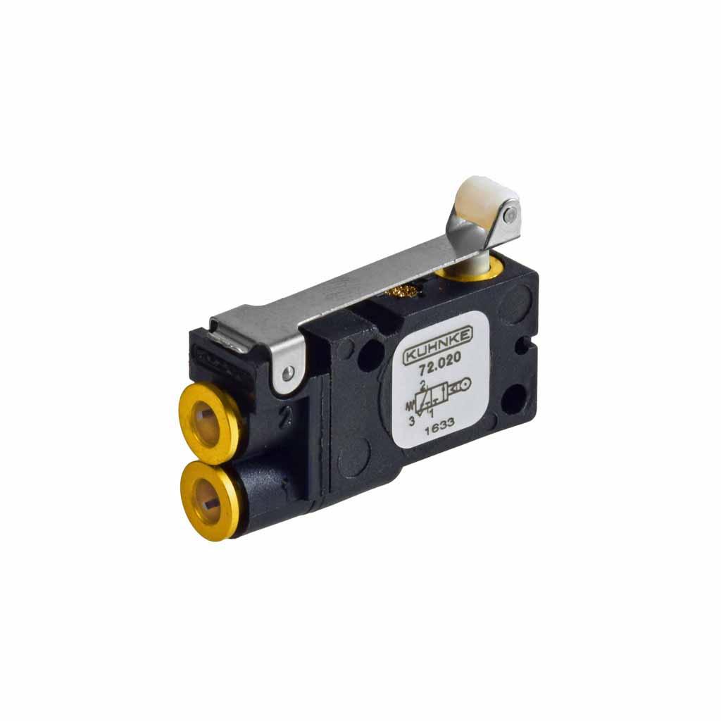 Kuhnke 72 series roller lever valve