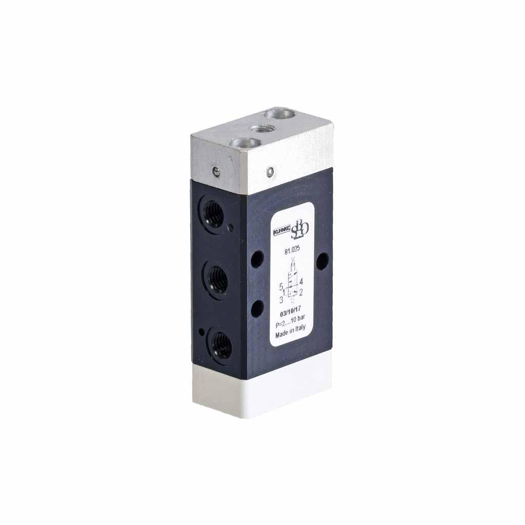 Kuhnke 81 series air-jet detector valve