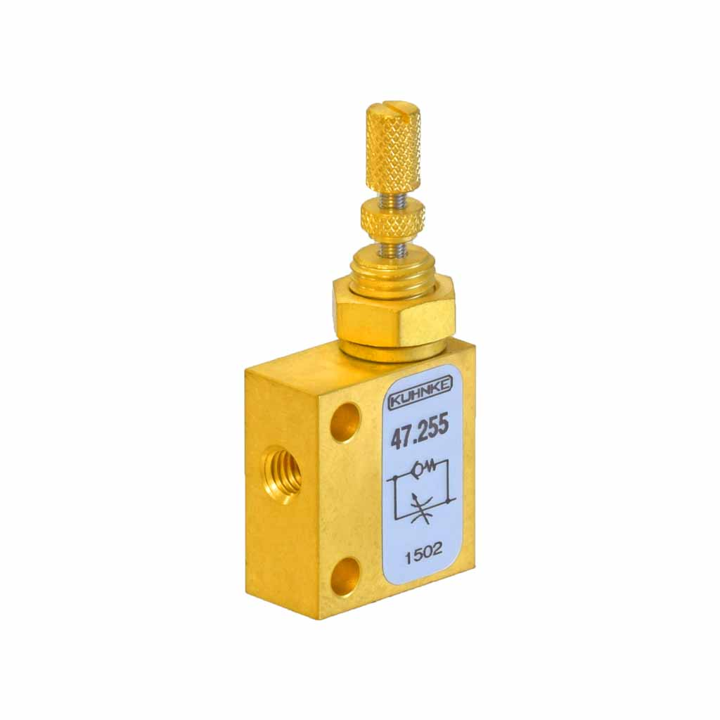 Kuhnke 47.255 flow restrictor