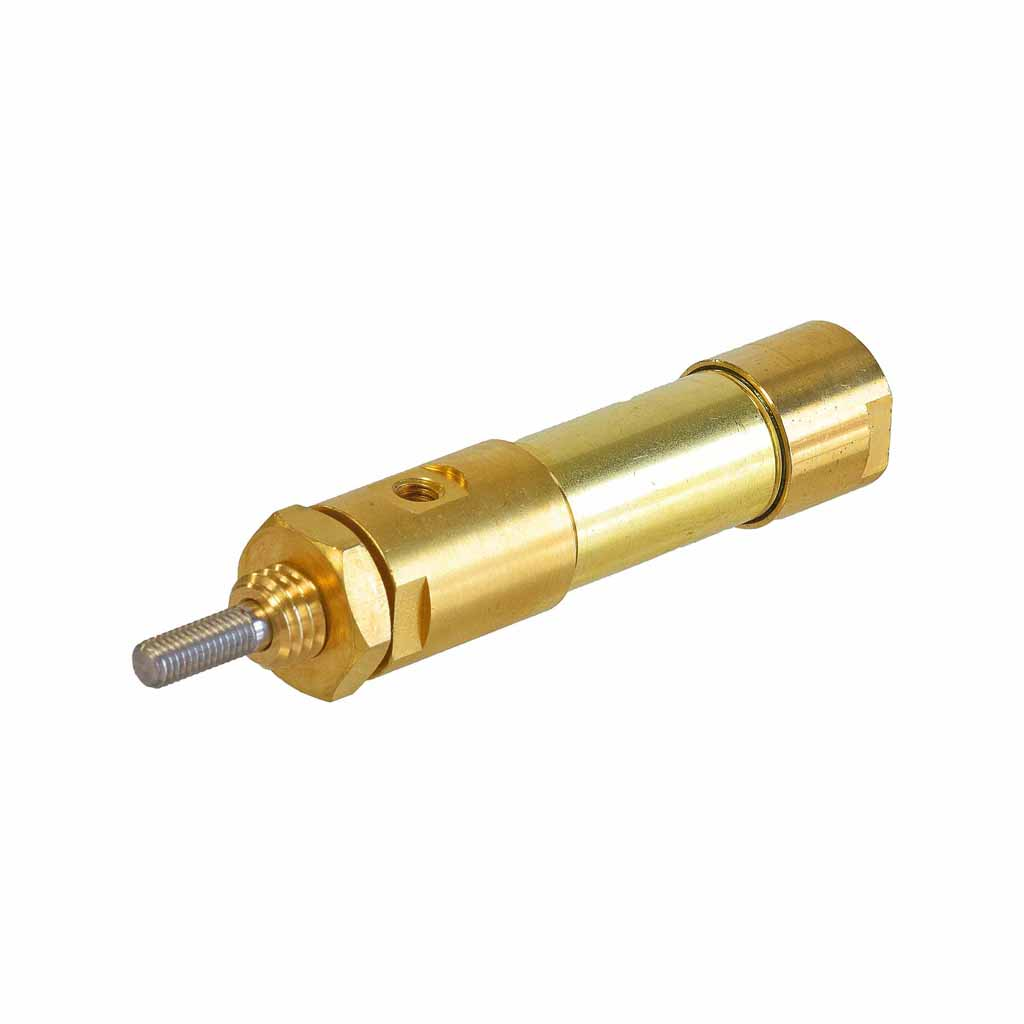 Kuhnke double acting brass cylinder 12mm to 16mm bore, mounting type S