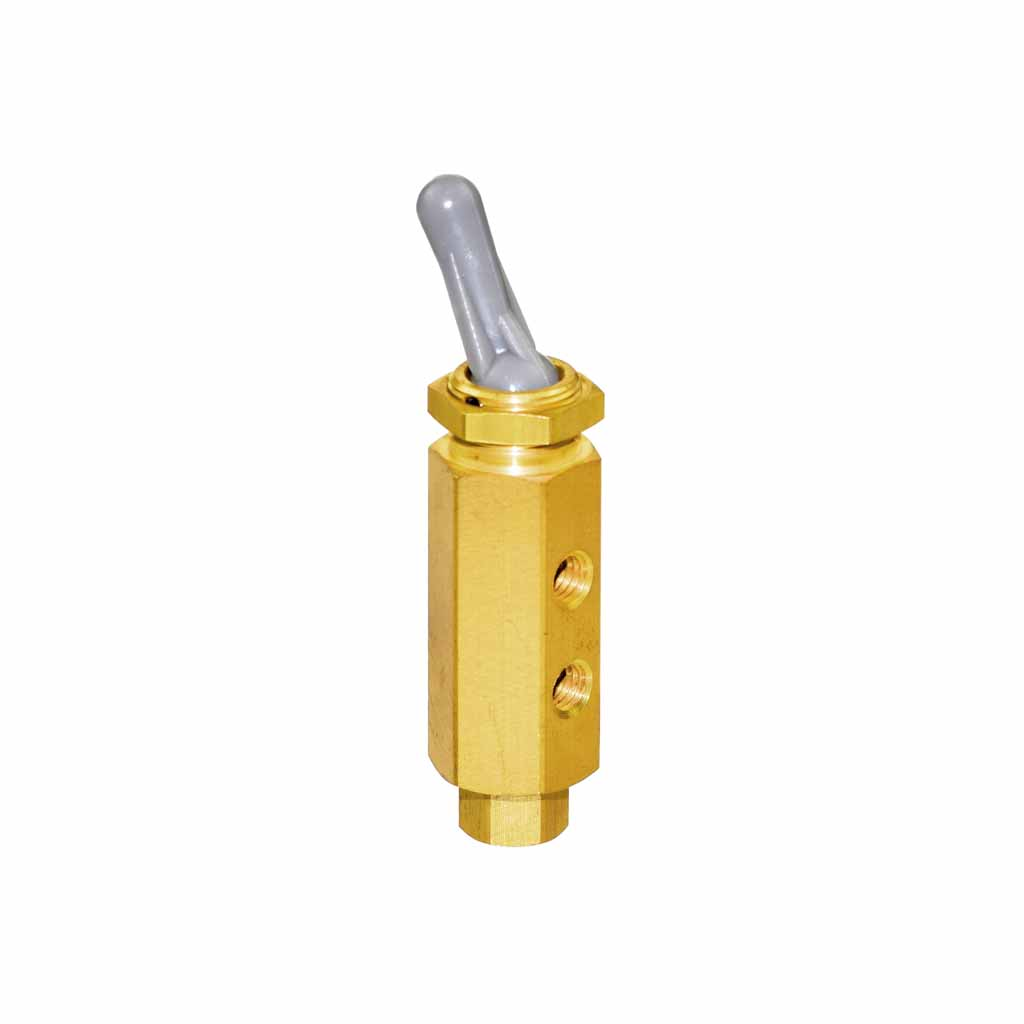 Kuhnke 46 series toggle lever valve