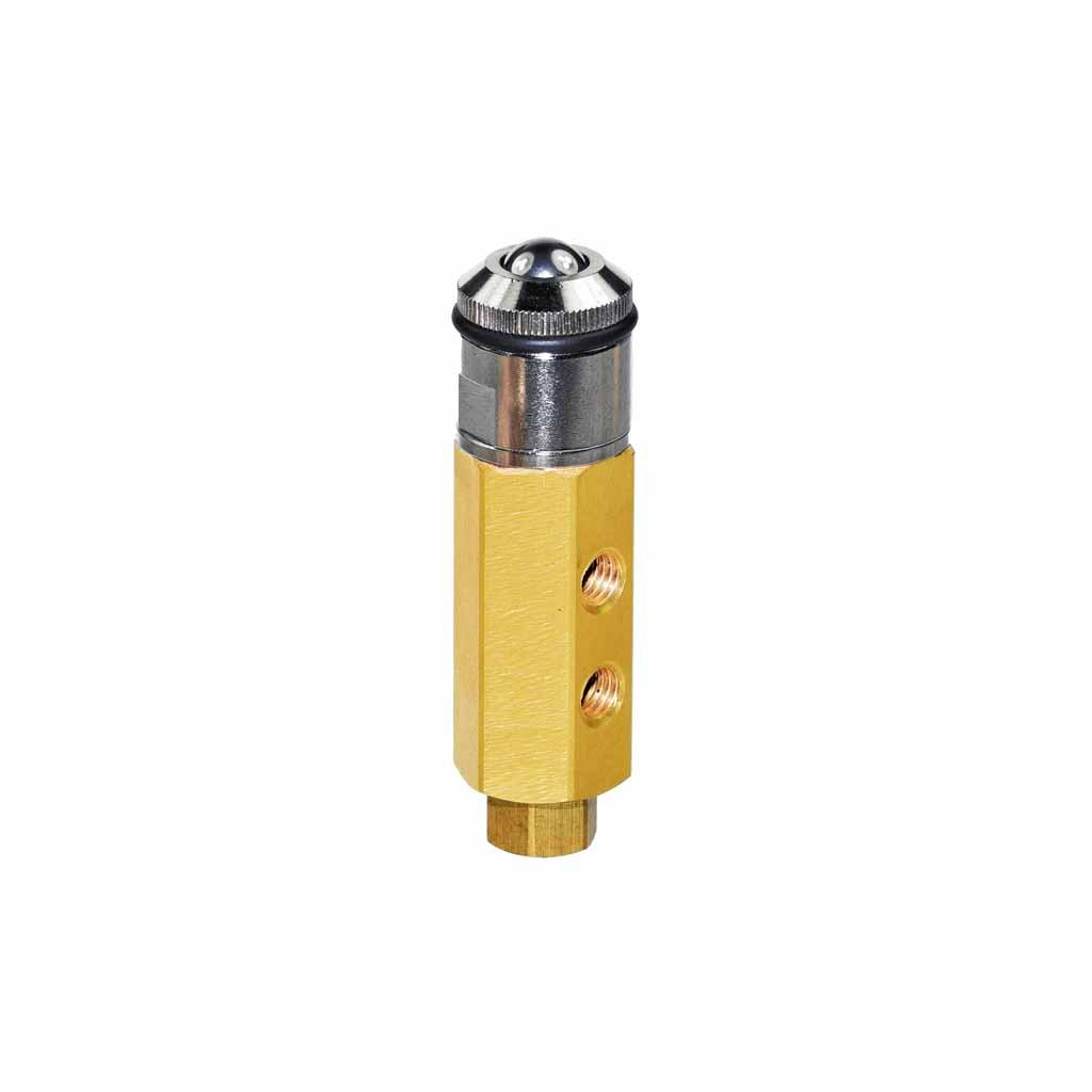 Kuhnke 46 series roller ball valve
