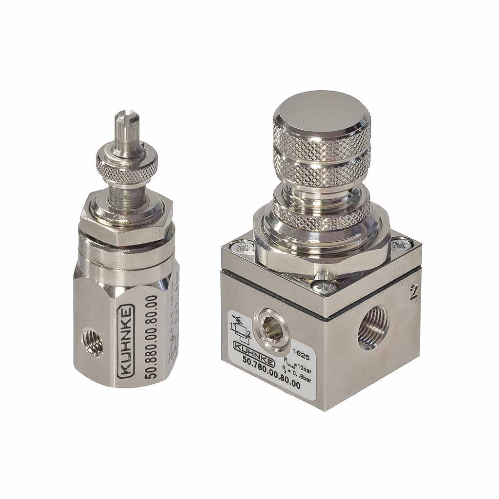 Kuhnke pneumatic regulators