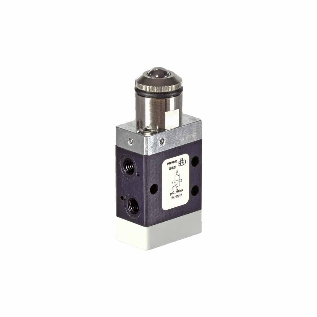 Kuhnke 79 series roller ball valve