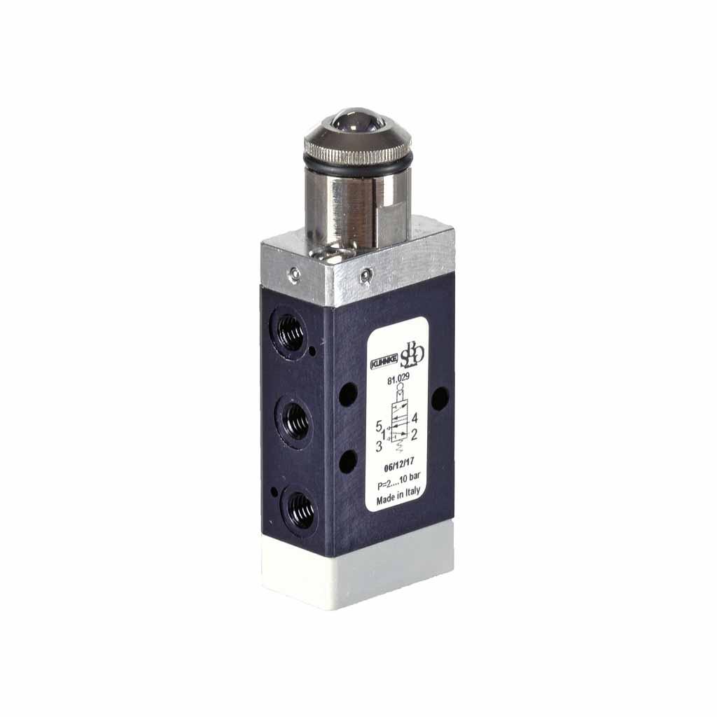 Kuhnke 81 series roller ball valve