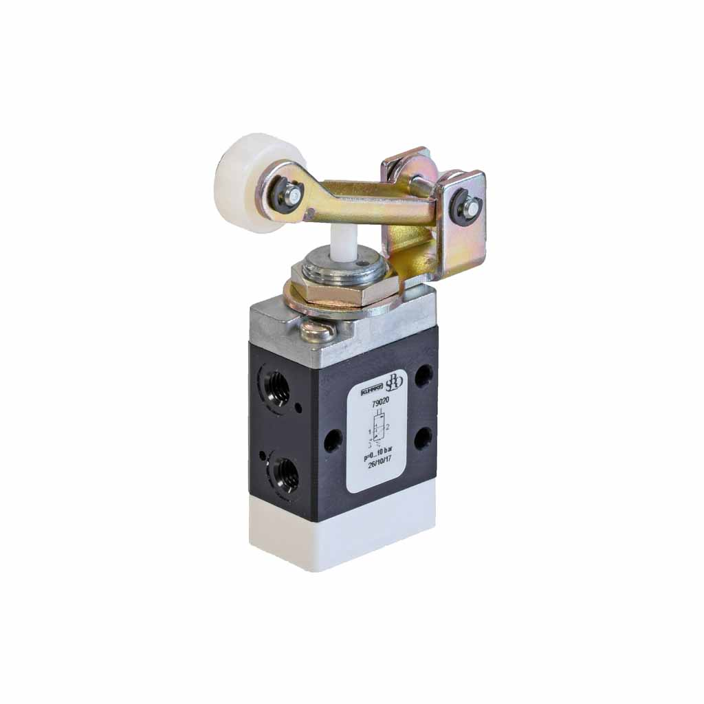 Kuhnke 79 series one-way roller lever valve