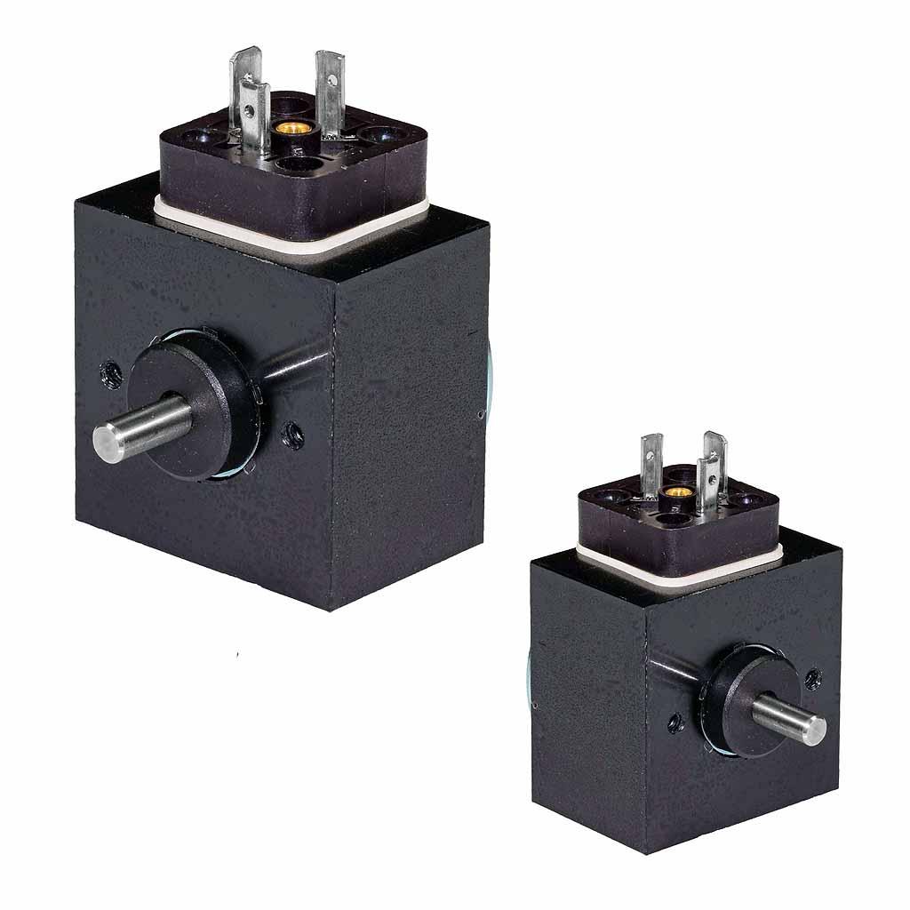 Kuhnke rotary solenoids square design