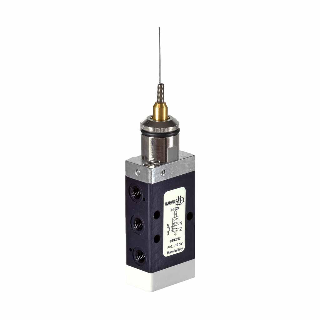 Kuhnke 81 series whisker valve