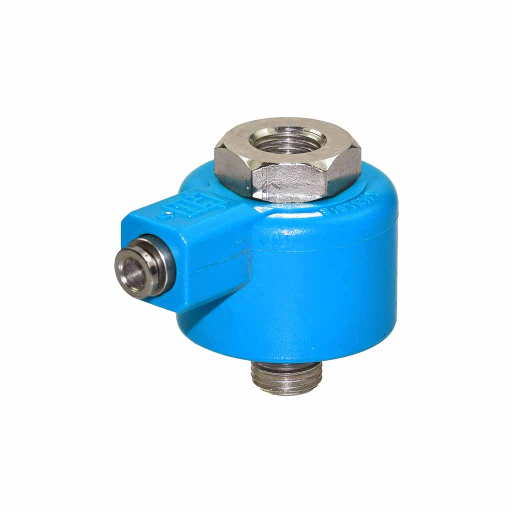 Pneumatic blocking valve