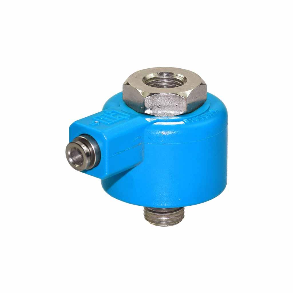 Pneumatic blocking valve