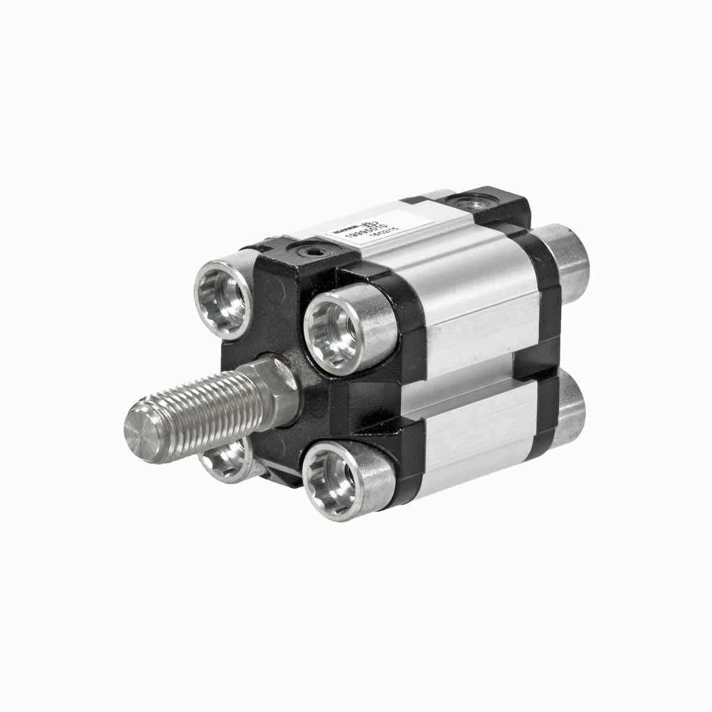 Kuhnke 19 series compact cylinder with male threaded rod