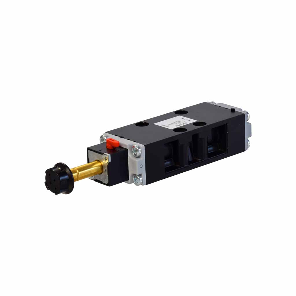 Kuhnke 76 series 5 way single solenoid ISO 1 valve