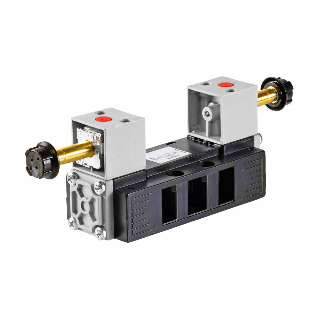 Kuhnke 76 series 5 way double solenoid ISO 2 valve