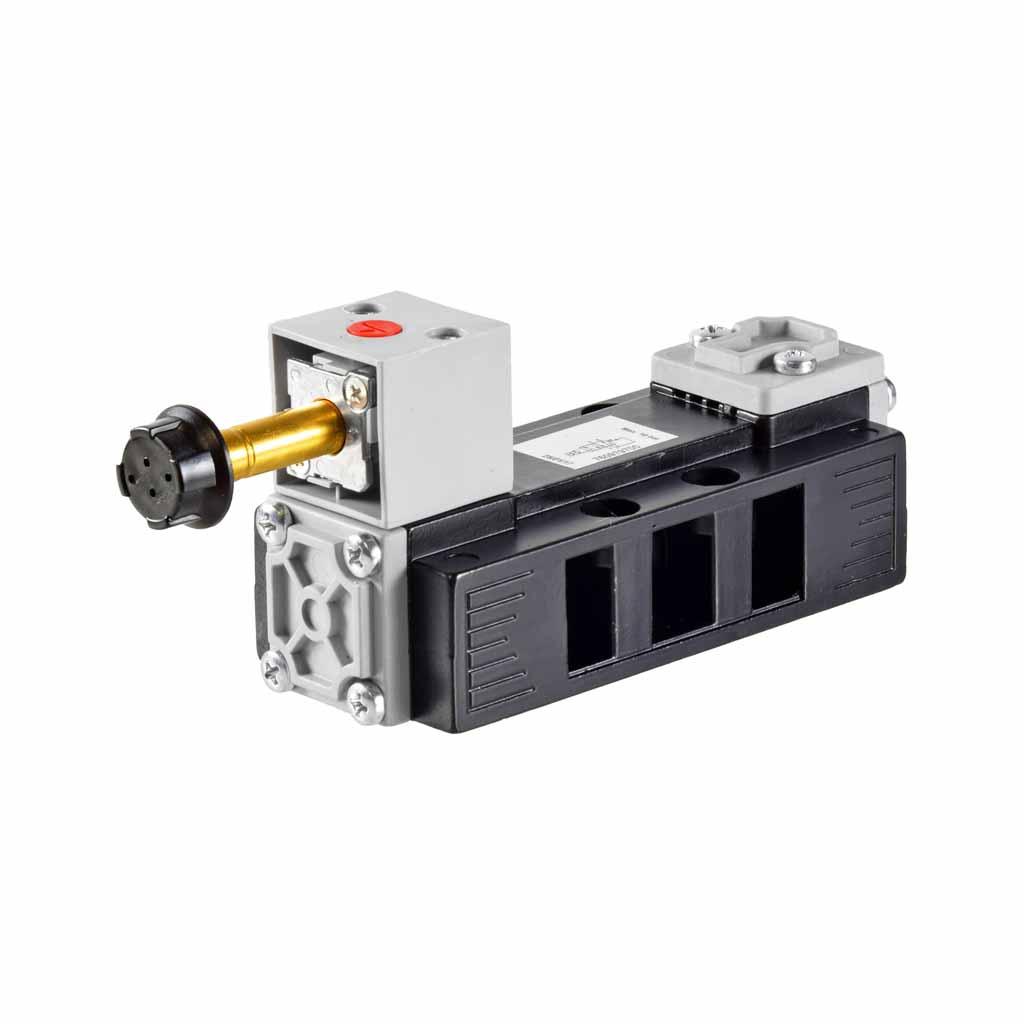 Kuhnke 76 series 5 way single solenoid ISO 2 valve