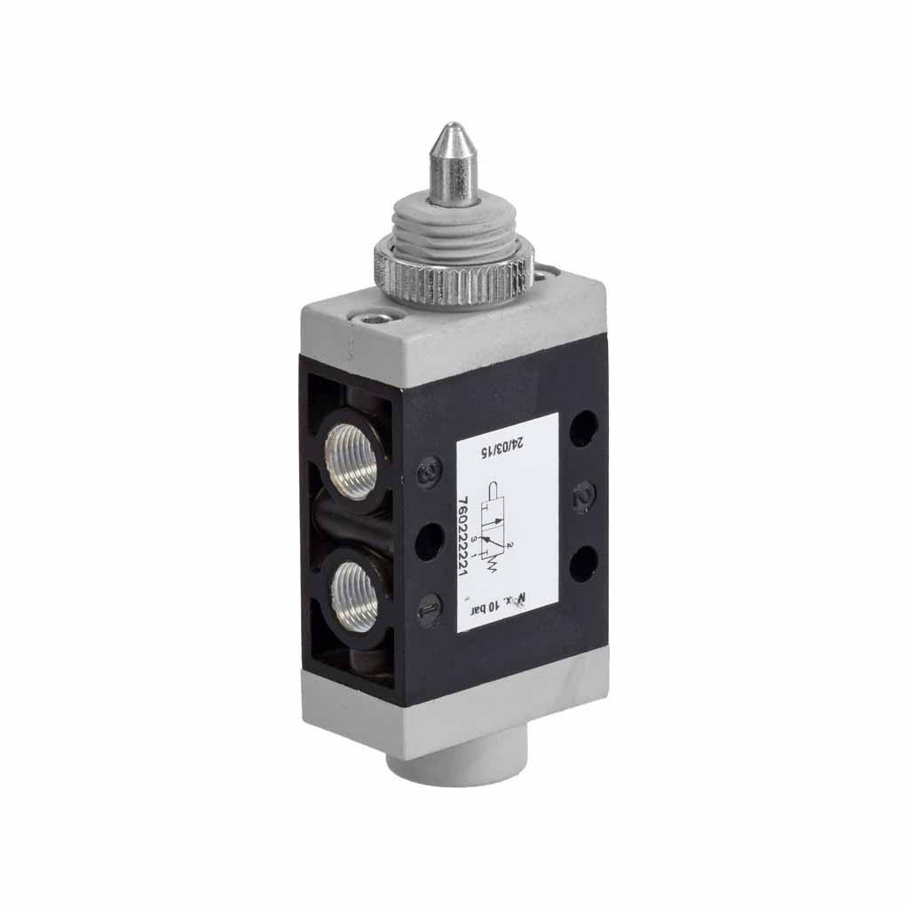 Kuhnke 76 series plunger valve 3 way valve