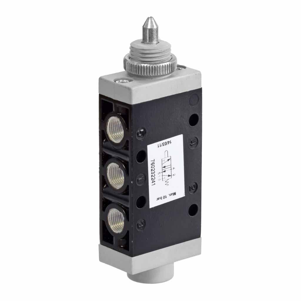Kuhnke 76 series plunger valve 5 way valve