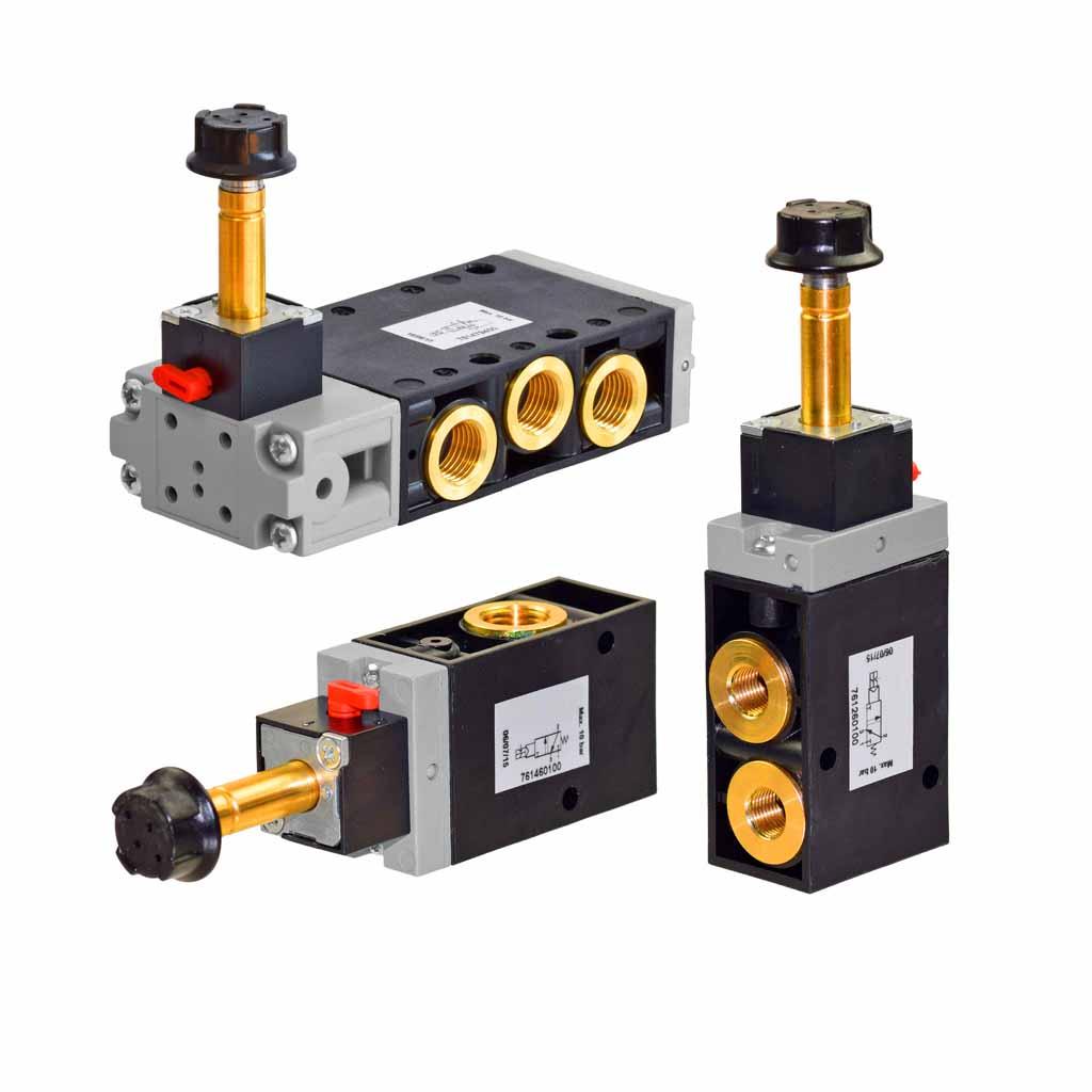 Kuhnke 76 series solenoid valves