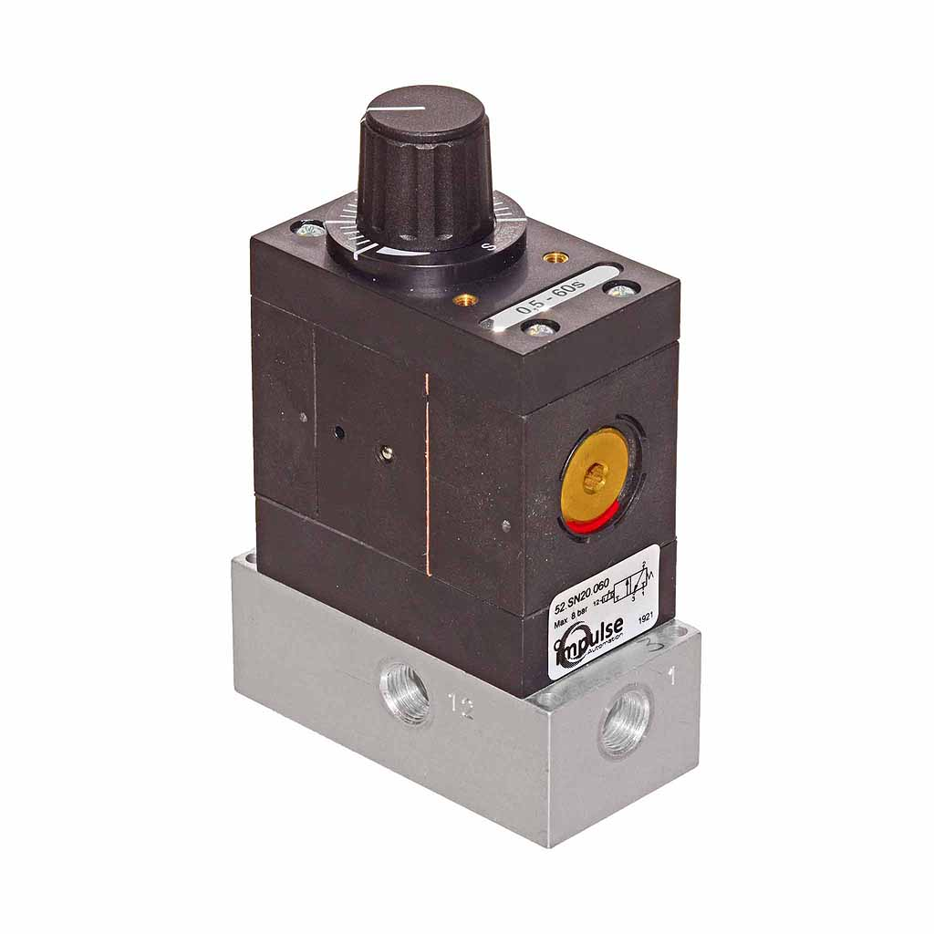 Impulse Automation 52 series pneumatic timer 1/8