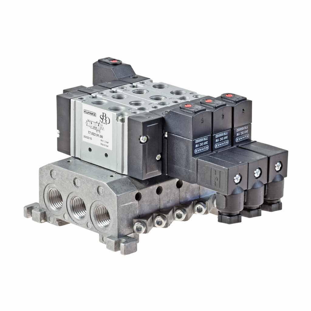 Kuhnke 77 series manifold valve island