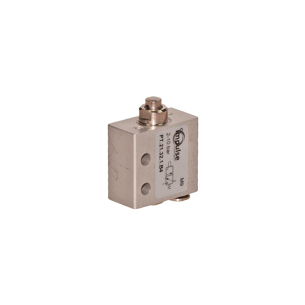 PulseTecH pneumatic plunger valve.