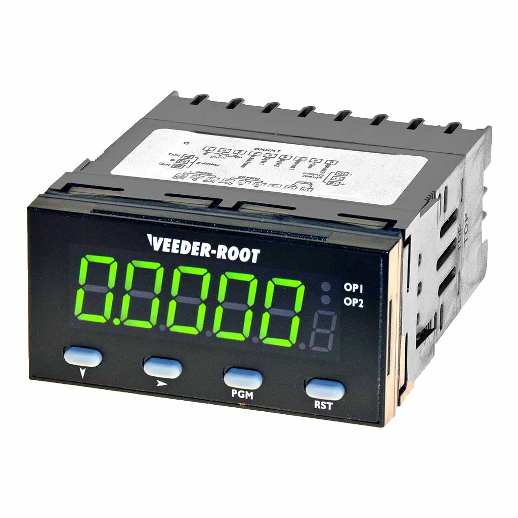 Veeder-Root C628 counter green display