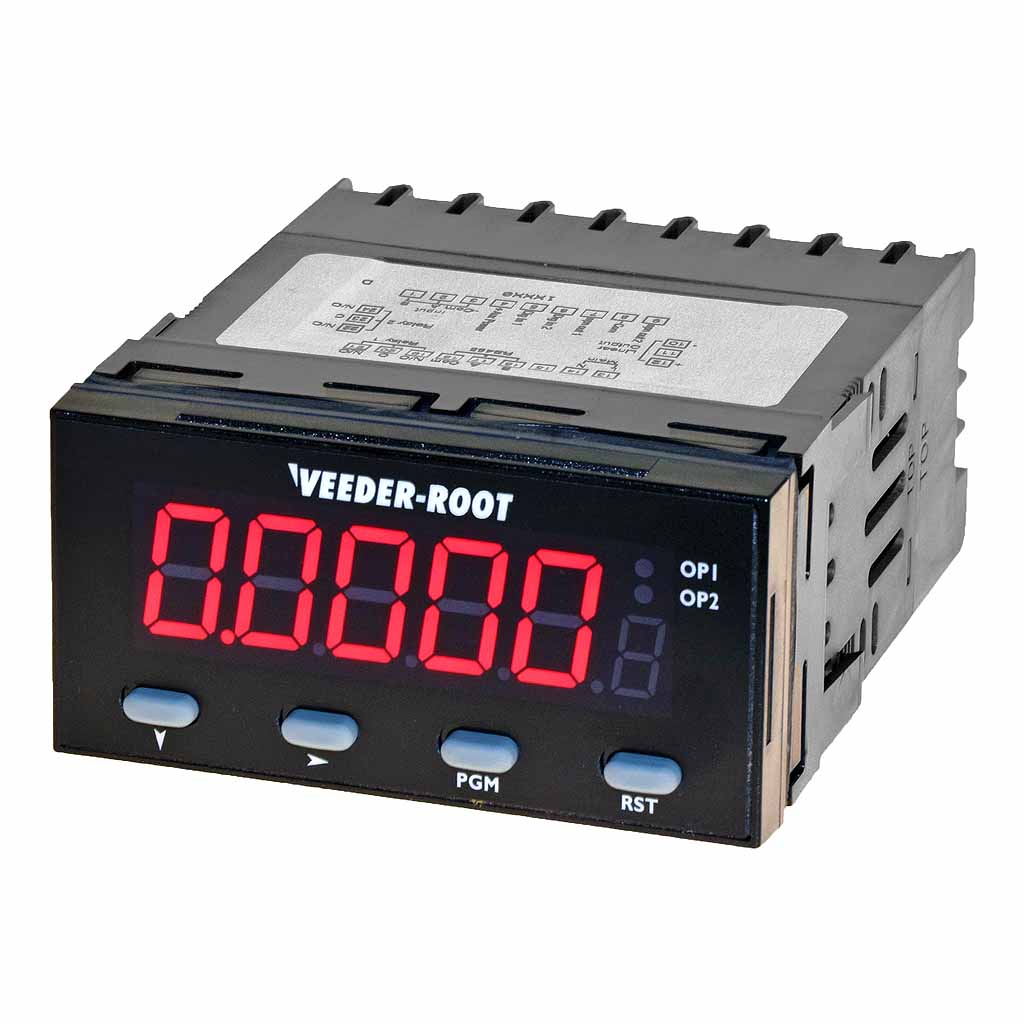 Veeder-Root C628 counter red display